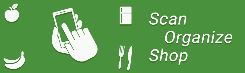 Shop - Organize - Scan